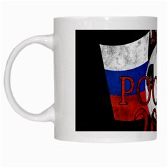Russia Football World Cup White Mugs by Valentinaart