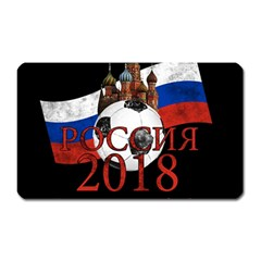 Russia Football World Cup Magnet (rectangular) by Valentinaart