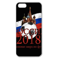 Russia Football World Cup Apple Seamless Iphone 5 Case (clear)