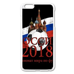 Russia Football World Cup Apple Iphone 6 Plus/6s Plus Enamel White Case