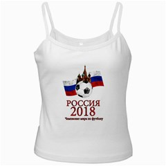 Russia Football World Cup Ladies Camisoles by Valentinaart