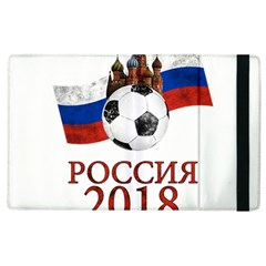 Russia Football World Cup Apple Ipad 2 Flip Case by Valentinaart