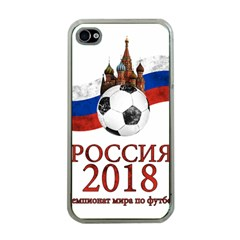 Russia Football World Cup Apple Iphone 4 Case (clear)