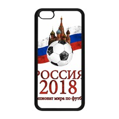 Russia Football World Cup Apple Iphone 5c Seamless Case (black)