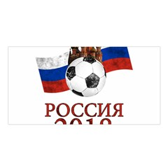 Russia Football World Cup Satin Shawl