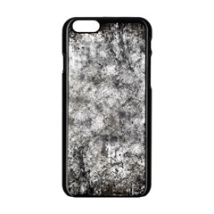 Grunge Pattern Apple Iphone 6/6s Black Enamel Case