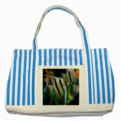 Angelfish 1 Striped Blue Tote Bag by trendistuff