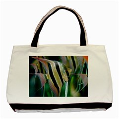 Angelfish 1 Basic Tote Bag (two Sides) by trendistuff