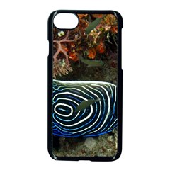 Angelfish 2 Apple Iphone 7 Seamless Case (black) by trendistuff