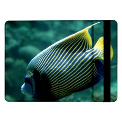Angelfish 4 Samsung Galaxy Tab Pro 12 2  Flip Case by trendistuff