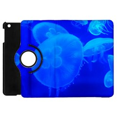 Blue Jellyfish 1 Apple Ipad Mini Flip 360 Case by trendistuff