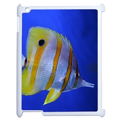 Butterfly Fish 1 Apple Ipad 2 Case (white) by trendistuff