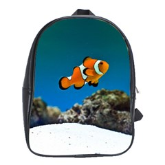 Clownfish 1 School Bag (large) by trendistuff