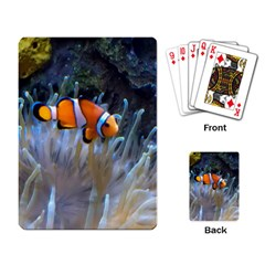 Clownfish 2 Playing Card by trendistuff