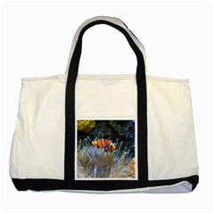 Clownfish 2 Two Tone Tote Bag by trendistuff