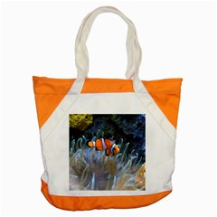 Clownfish 2 Accent Tote Bag by trendistuff