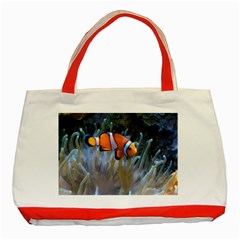 Clownfish 2 Classic Tote Bag (red) by trendistuff