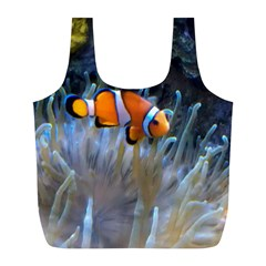 Clownfish 2 Full Print Recycle Bags (l)  by trendistuff