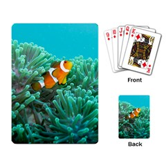 Clownfish 3 Playing Card by trendistuff