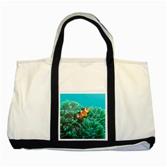 Clownfish 3 Two Tone Tote Bag by trendistuff
