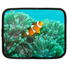Clownfish 3 Netbook Case (large) by trendistuff
