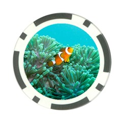 Clownfish 3 Poker Chip Card Guard (10 Pack) by trendistuff