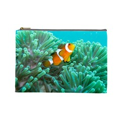 Clownfish 3 Cosmetic Bag (large)  by trendistuff