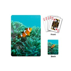 Clownfish 3 Playing Cards (mini)  by trendistuff