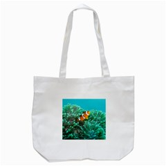 Clownfish 3 Tote Bag (white) by trendistuff