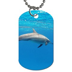 Dolphin 3 Dog Tag (two Sides) by trendistuff