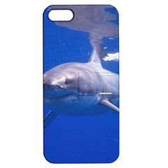 Great White Shark 4 Apple Iphone 5 Hardshell Case With Stand