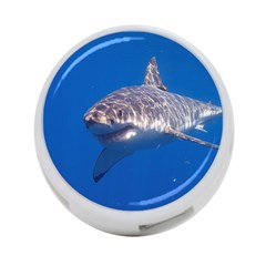 Great White Shark 5 4 Port Usb Hub (two Sides)  by trendistuff