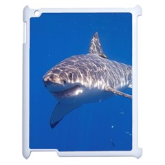 Great White Shark 5 Apple Ipad 2 Case (white) by trendistuff