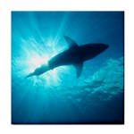 GREAT WHITE SHARK 6 Tile Coasters Front
