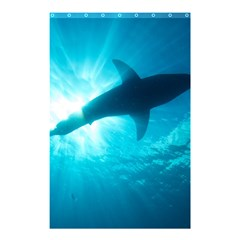 Great White Shark 6 Shower Curtain 48  X 72  (small)  by trendistuff