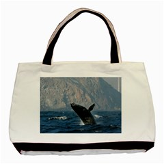 Humpback 1 Basic Tote Bag by trendistuff