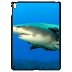 Lemon Shark Apple Ipad Pro 9 7   Black Seamless Case by trendistuff