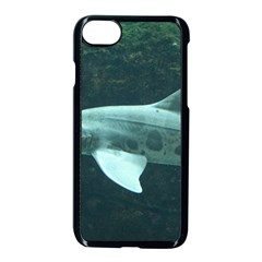 Leopard Shark Apple Iphone 7 Seamless Case (black) by trendistuff