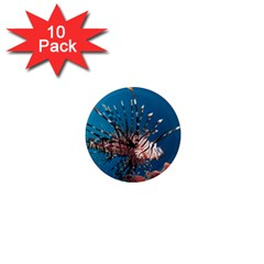 Lionfish 1 1  Mini Magnet (10 Pack)  by trendistuff