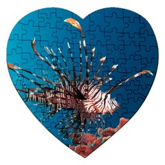 Lionfish 1 Jigsaw Puzzle (heart) by trendistuff