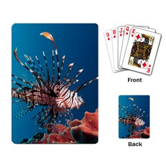 Lionfish 1 Playing Card by trendistuff