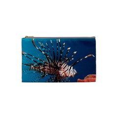 Lionfish 1 Cosmetic Bag (small)  by trendistuff