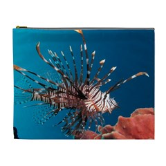 Lionfish 1 Cosmetic Bag (xl) by trendistuff