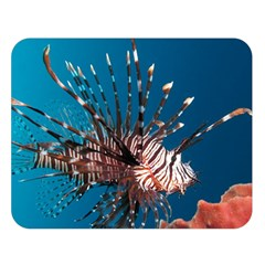 Lionfish 1 Double Sided Flano Blanket (large)  by trendistuff