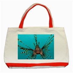 Lionfish 2 Classic Tote Bag (red) by trendistuff