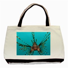 Lionfish 2 Basic Tote Bag (two Sides) by trendistuff