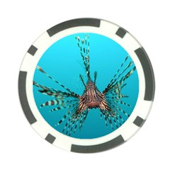 Lionfish 2 Poker Chip Card Guard (10 Pack) by trendistuff