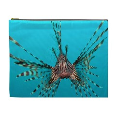 Lionfish 2 Cosmetic Bag (xl) by trendistuff