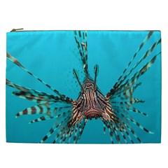 Lionfish 2 Cosmetic Bag (xxl)  by trendistuff