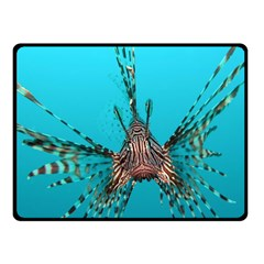 Lionfish 2 Double Sided Fleece Blanket (small)
